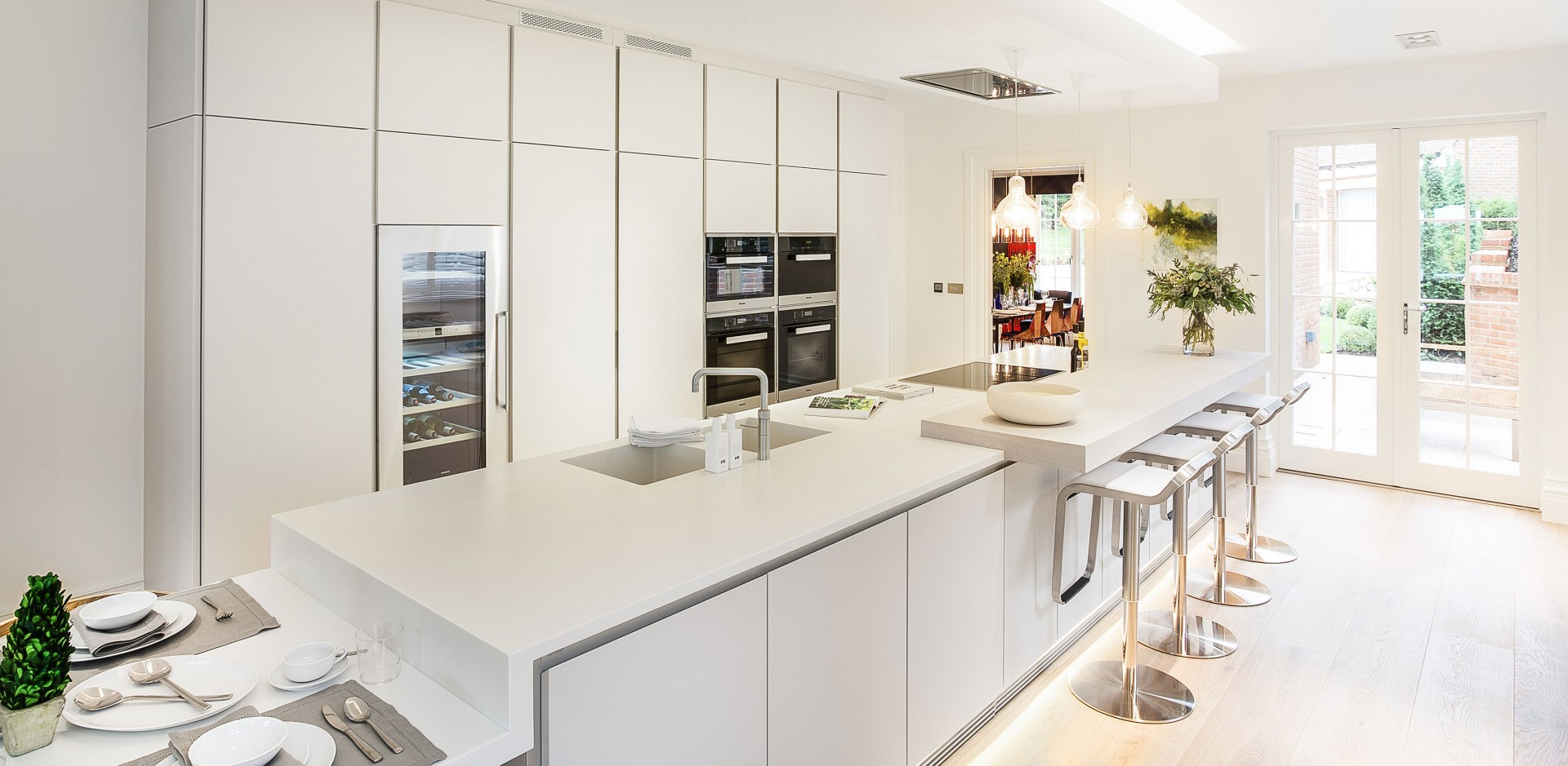 Corian Kitchens | Counter Production Ltd - 30 years Corian specialist