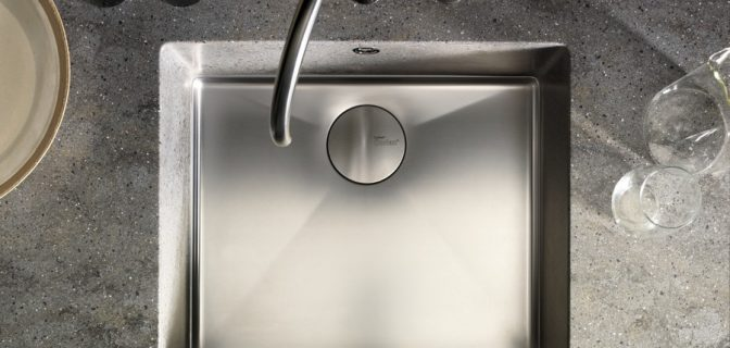 Dupont corian countertops with single sink