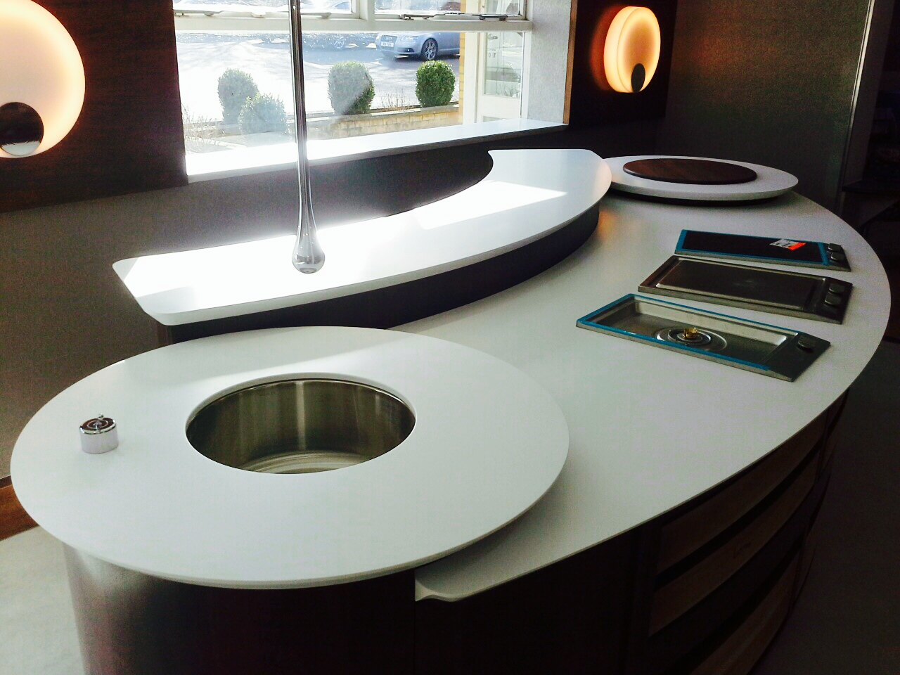 Potts Corian Display