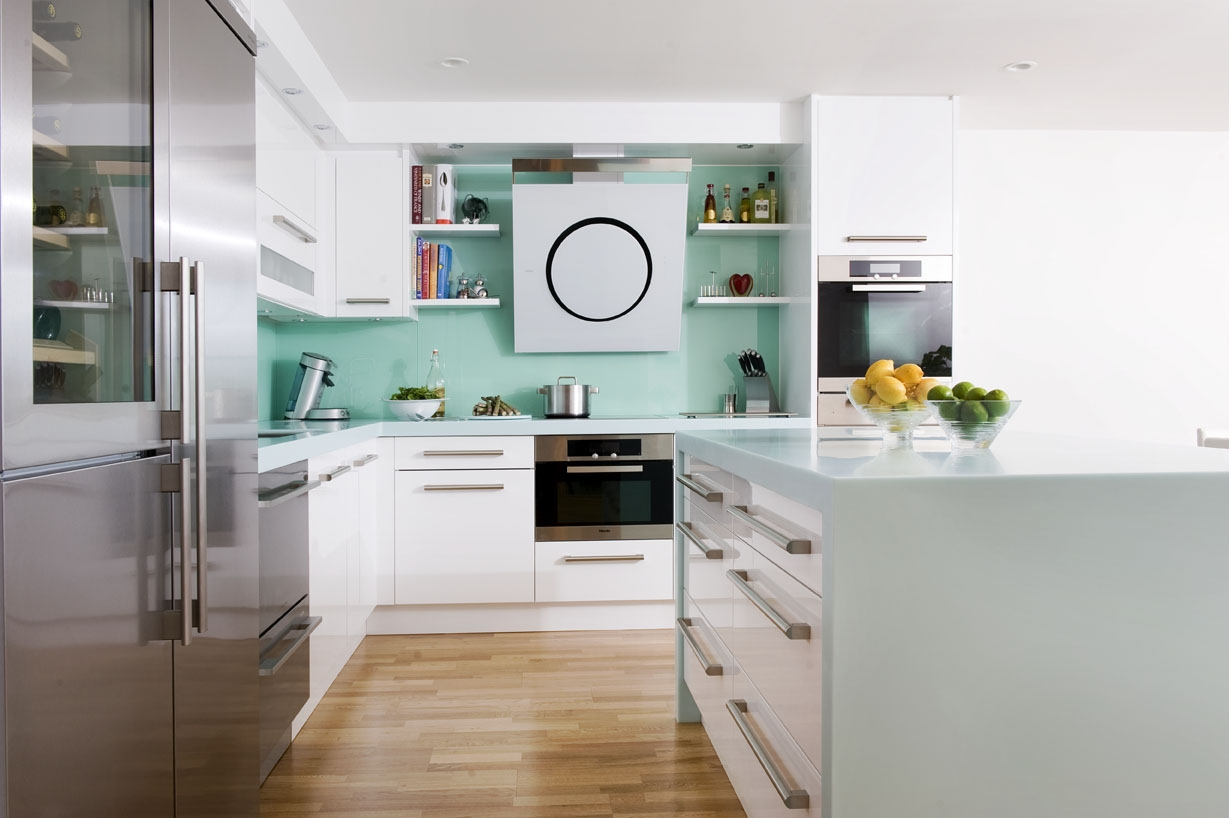 seagrass corian worktops give this kitchen the wow factor. Black Bedroom Furniture Sets. Home Design Ideas
