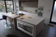 Corian® Island Worktop In Designer White
