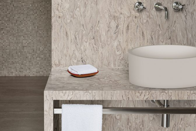 Corian Smoke Drift Prima