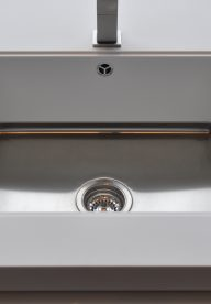 871 Corian Mixa Sink With Flush Cover
