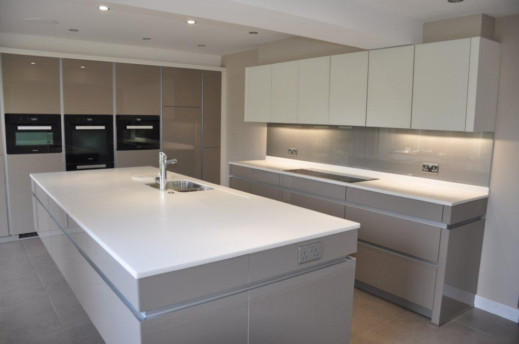 Arctic Ice Corian 174 Kitchen Counter Production Ltd