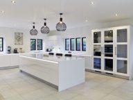 Stoneham Gloss White Kitchen