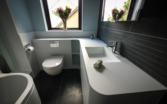 Corian Bathrooms