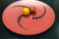 Corian® Crop Circle Bowl