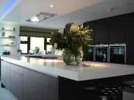 Glacier White Corian® Kitchen