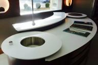 Curved Corian® Worktops